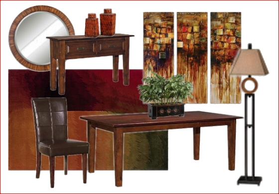 Urban Dining Room Style Meets Comfort
