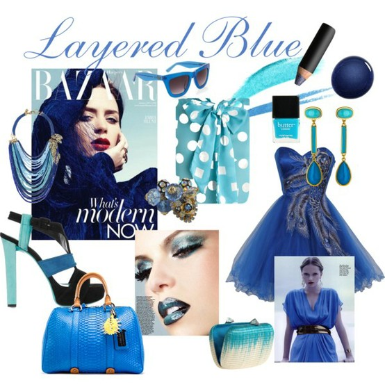 Layered Blues Trend - How Pinteresting