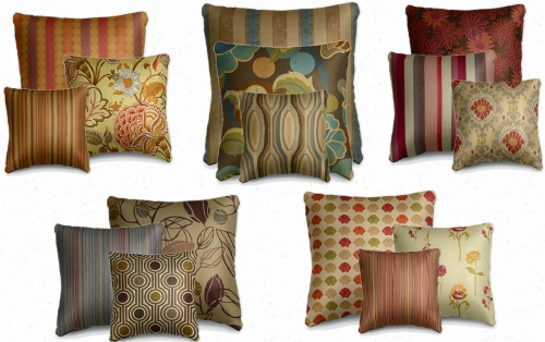 Custom Fabrics and Pillow Collection by La-Z-Boy