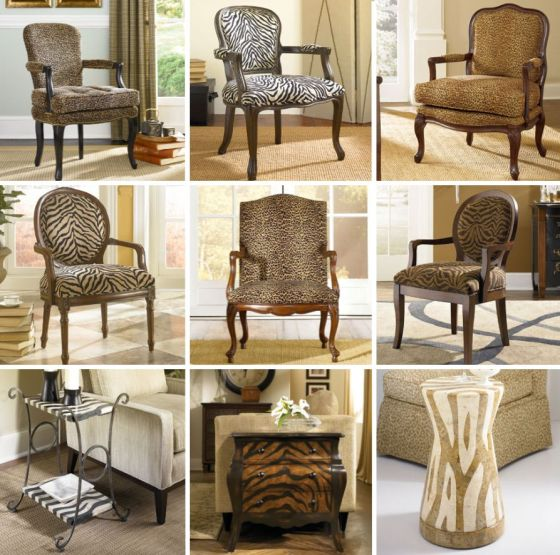 Animal Print Chairs by Hammary - La-Z-Boy Furniture Galleries of Arizona - designmeetscomfort.com