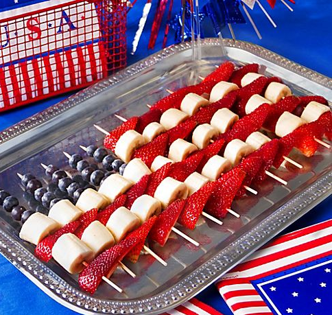 4th of July - Fruit Skewers