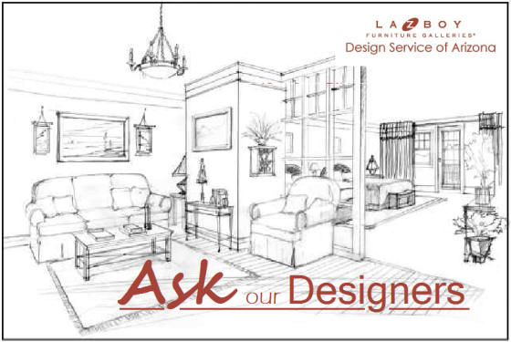 Ask our Designers - Design meets Comfort - La-Z-Boy Furniture Galleries Design Service of Arizona