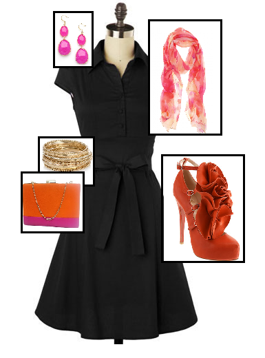 Little Black Dress Just Add Accessories