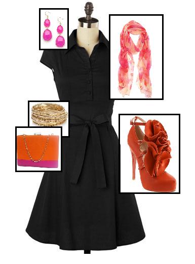 Little Black Dress Just Add Accessories