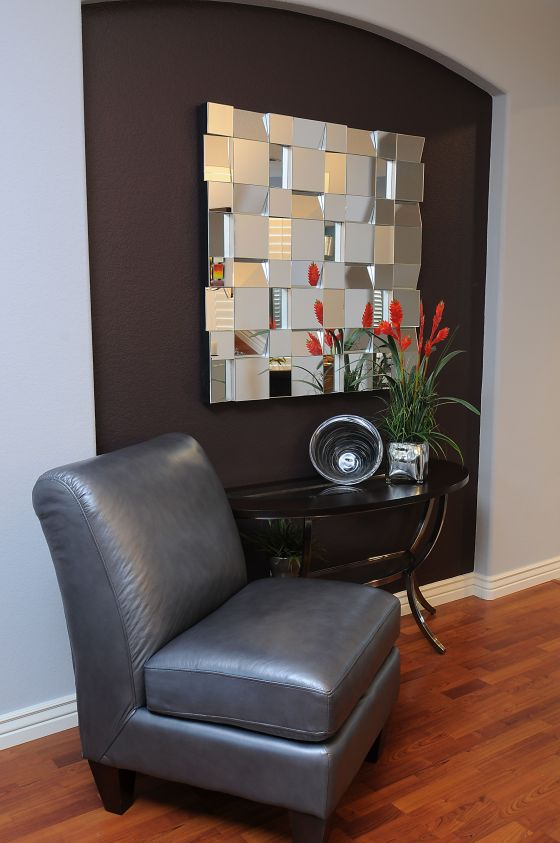 Metal Wall Sculpture - Design by: Jill Morse Interior Designer - La-Z-Boy Furniture Galleries of Arizona