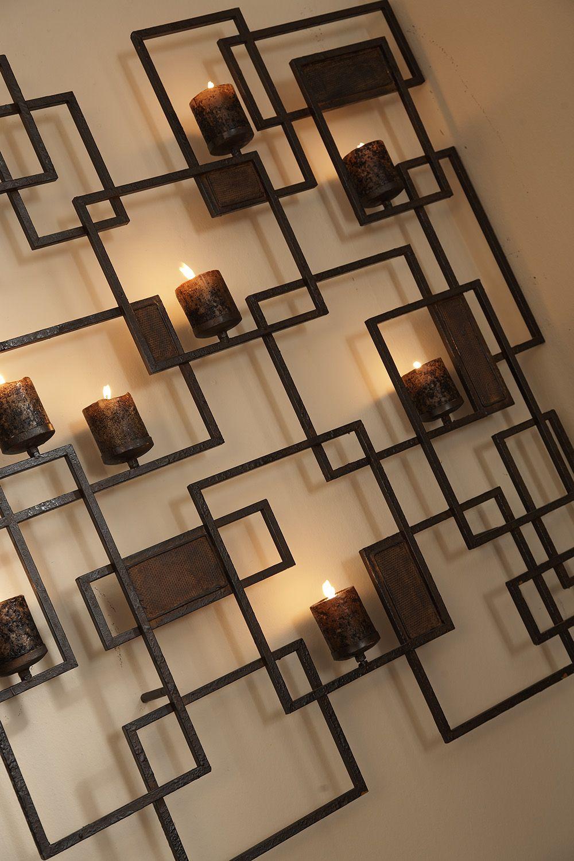 metal art for wall inarace - Wall Art Designer
