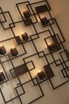 Metal Wall Art Candle Holder by La-Z-Boy Furniture Galleries of Arizona