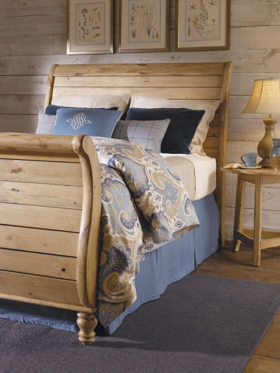 Homecoming Vintage Pine Bedroom Collection by Kincaid