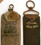 Vintage Razor Strop Pair - Linen and Leather