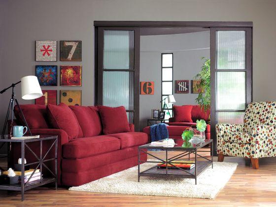 The Daphne Sofa by La-Z-Boy Furniture - Industrial Loft