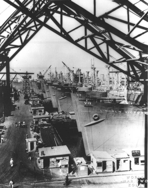 Turn of Century Ship Yard