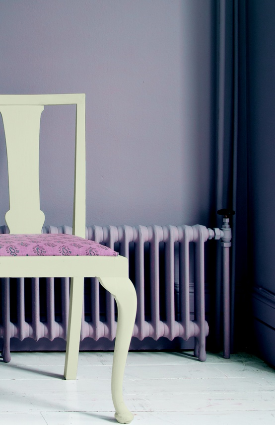 Dusty Plum Wall Color