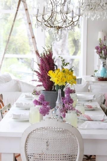 Lilacs and Daffodils
