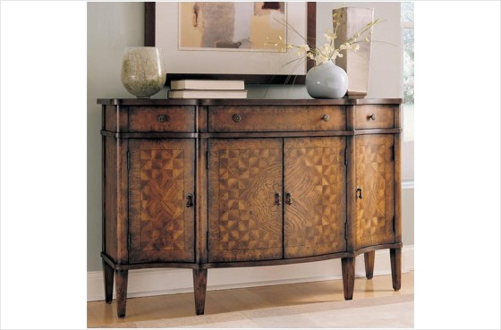 Hidden Treasures Foyer Console by Hammary Furniture - A La-Z-Boy Furniture Company
