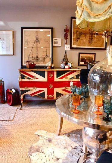 Union Jack Inspired Room