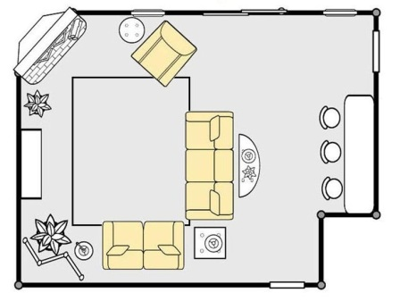 La-Z-Boy Floor Plan