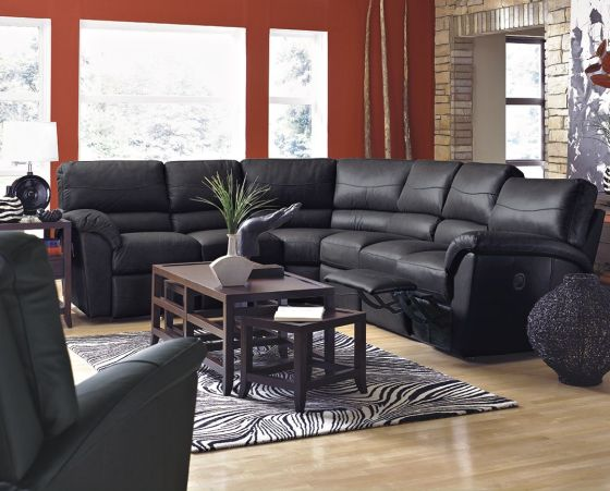 Reese Reclining Sectional by La-Z-Boy Furniture