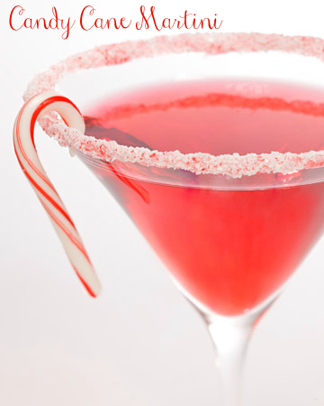 Candy Cane Martini by Martha Stewart