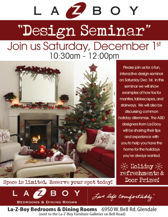 Design Seminar! Decorating your home for the holidays - Glendale, AZ