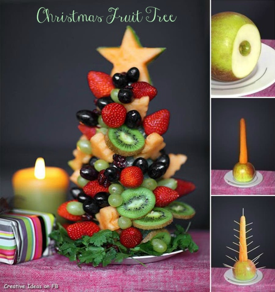 Fruit Christmas Tree by welldonestuff