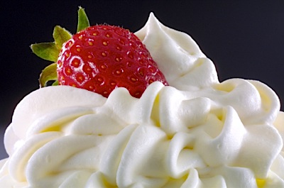 strawberry-whipped-cream
