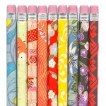Patterned Colorful Pencils