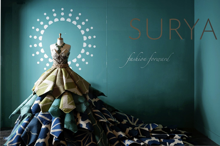 Fashion meets Home Furnishings - Surya Rugs - Highpoint Market 2012 Award Winning Window Display