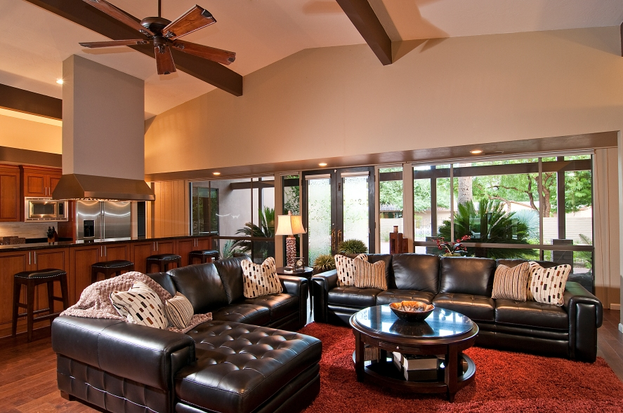La-Z-Boy-Contemporary-Living-Room-Zane-Sectional