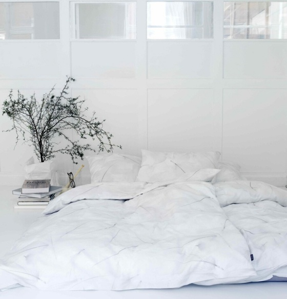 Ultra White Bedroom