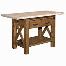 Featured Product: Kitchen Island - Homecoming Collection - Vintage Oak by Kincaid Furniture a La-Z-Boy Furniture Company