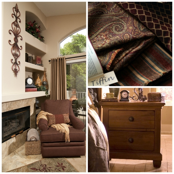 Layering a Tuscan Room by La-Z-Boy Furniture Galleries of Arizona