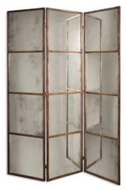 Uttermost 3 Panel Screen - La-Z-Boy Furniture Galleries of Arizona