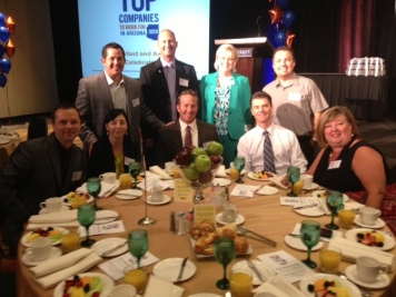 Top Companies Arizona Careerbuilder Award Breakfast 2013 La-Z-Boy