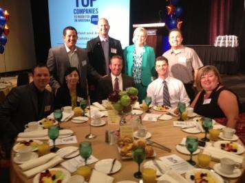 Top Companies Arizona Careerbuilder Award Breakfast 2013 La-Z-Boy